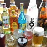 【アルコール】65種飲み放題1480円(税込1598円)生ビールがザ・プレミアム・モルツになりました