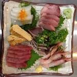 Dining 徳治 - お刺身盛り合わせ
