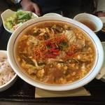 薬膳 天地・礼心 東方人康食養館 - 『サンラータン麺セット』様(800円)この組み合わせで800円はかなりお得ではないですか!?