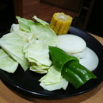 焼肉きんぐ - 野菜盛り合わせ