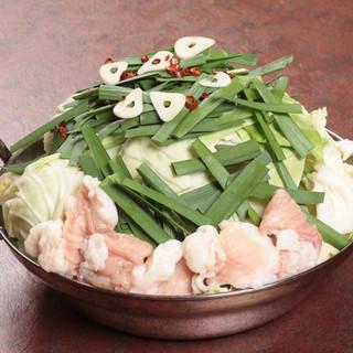 博多の味にも自信アリ◎もつ鍋は絶品です!