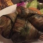 ドゥワン ディー - 『ガイホーバイドゥーイ』様(値段失念)マイレビ様の様に葉っぱも食べてみますが全部は無理でも葉の先っぽはシャクシャクと薫り高い味わいでこれいいよ!!