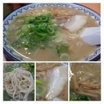 赤のれん和亭 - ラーメンはスープが濃厚で、苦手かな・・m(__)m