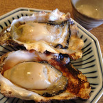 35357297 - ぷりっぷりに焼きあげられた牡蠣。                       ジューシーでお汁も溢れます。