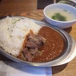 35357562 - 牛タンキーマカレー・ご飯L                     (650円)