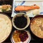 キッチン エム - 魚定食 710円