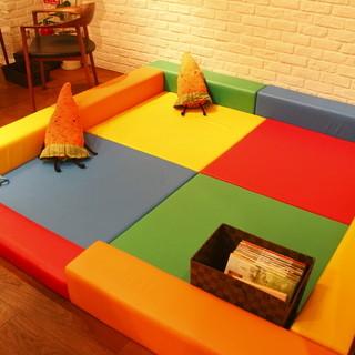 キッズスペースあり!小さな子どもがいても楽しく過ごせるカフェ