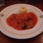 MESON Hasta Manana - 若鶏と野菜の煮込み、サンファイナ