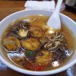 中国料理 玄武 - 牡蠣ラーメン