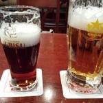 35361108 - ハーフアンドハーフと生ビール