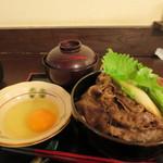 神戸牛丼 広重 - 牛丼