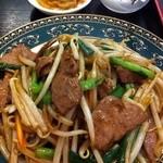 35362909 - レバニラ炒め定食