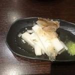四文屋 ススキノ店 - 長芋浅漬