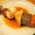 酒饌亭 灘菊 - 料理写真:大串黒おでん