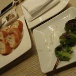 銀座Toriya Premium - 芽キャベツ アンチョビ焼き