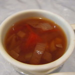 西洋料理 ぐるとん - ランチのスープ