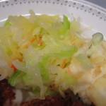 西洋料理 ぐるとん - 添えのキャベツ温サラダ