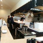 麺屋 たけ井 - 綺麗な広い店内