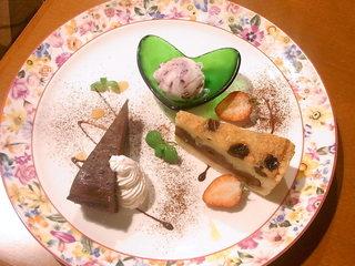 ビストロ マブール - 本日のデザート盛り合わせ☆♪