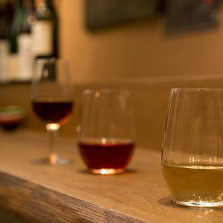 ワインと餃子のマリアージュ