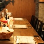 姉小路TAC - カウンターに座って一人飲みも大歓迎!