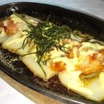 ・餅チーズキムチ鉄板…680円