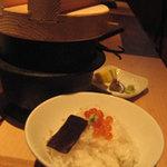 無垢とうや - 県内産の米をシンプルに食べる。甘みがじんわり
