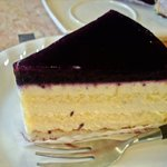 3537981 - ブルーベリーチーズケーキ