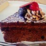 3537983 - チョコケーキ(胡桃入り)