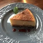 太陽と月の珈琲 - りんごのチーズケーキ(450円)