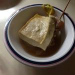 丸徳 - 豆腐、大根、すじ