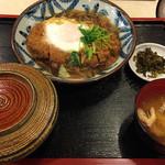 35370820 - 煮カツ定食