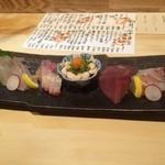 和食 寛 - お刺身の盛り合わせ(2人前)2,500円