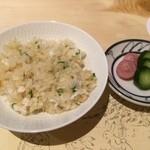 和食 寛 - 鯛の土鍋飯1,200円