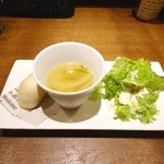 35372638 - サラダとスープ