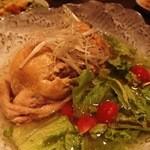 琉炭 - サムゲタン的な鶏のスープ煮