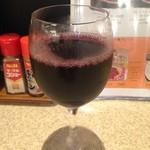 ジャポネ - 無料グラスワイン赤