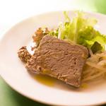 ビストロ・ソレイユ - 鶏レバーのパテ(ランチ)