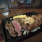 いきなり!ステーキ - 料理写真:リブステーキ(525g)