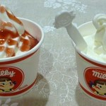 不二家 - 料理写真:ソフトクリーム