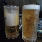 ラーメン 一遊 - ビール