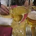 アル バーチョ - 2015/1 白ワインをいただきます