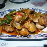 Faa Thai - アサリの炒め物