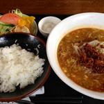 ちゆうすけ - 担々麺セット 700円(税込) (2015.02現在)