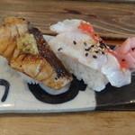 鮨 笹元 - 炙り寿司