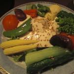 あきやま - ゆば豆腐サラダ