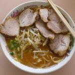 中華そば くにおか - スープの色
