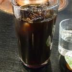 しゃぶしゃぶ すきやき くりりん - 食後のアイスコーヒー