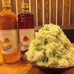 マカロニウエスタン - ゆき氷¥400~
