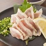 薩摩 鶏ムネ肉のタタキ